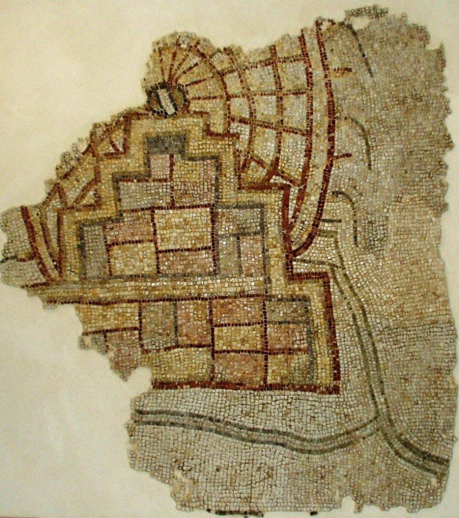 Noria. Mozaika z Apamei z 469 r. n.e. fot. K. Abdallah Muzeum w Hama, dzięki uprzejmości K. Abdallah