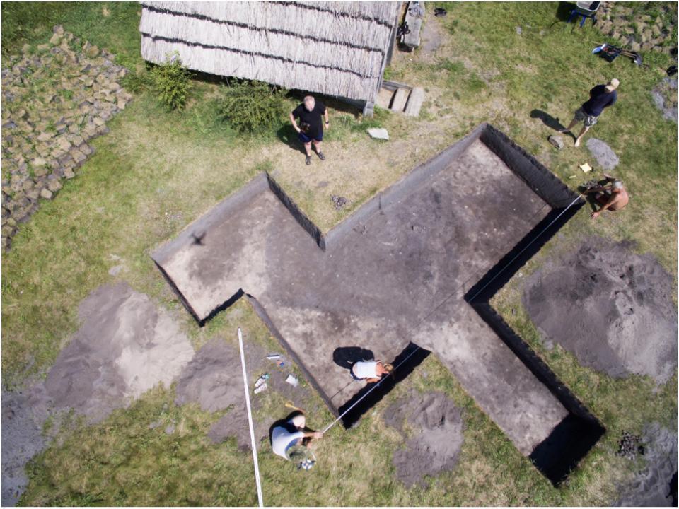 Żmijowiska, stanowisko 10. Obiekt o funkcji osadniczej – badania w 2020 roku, osada północna © Ł. Miechowicz
