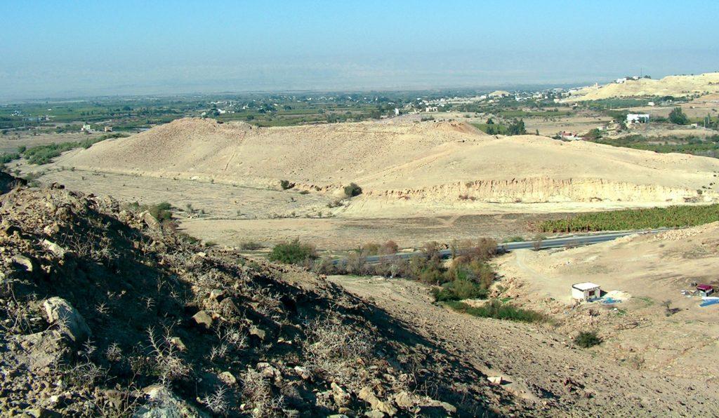 Stanowisko Tall el-Hammam fot. Deg777, na podstawie licencji CC BY-SA 4.0, via Wikimedia Commons